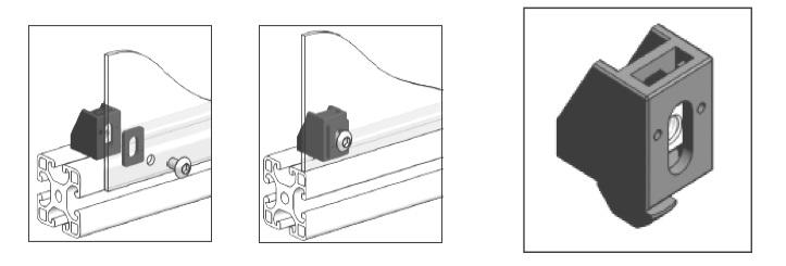 aluminium profile panel multiblock
